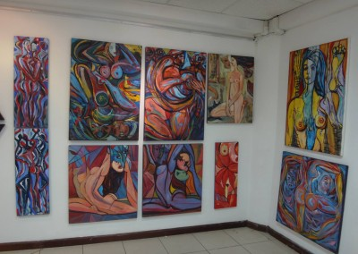 AQ Feria Arte QuitoAQ Feria Arte Quito | Las obras de Larissa Oksman