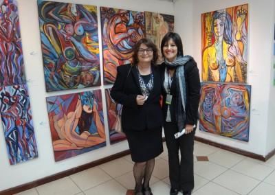 AQ Feria Arte Quito | Larissa Oksman y Patricia Proaño