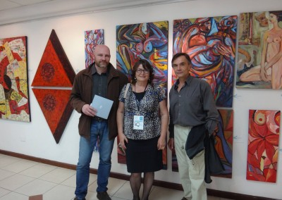 AQ Feria Arte QuitoAQ Feria Arte Quito | Larissa Oksman, Henri Leduc y Emmanuel Roch