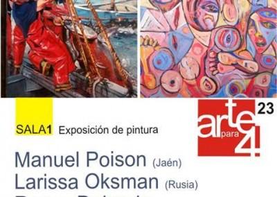 Invitación - Presentación de la Exposición Arte para 4