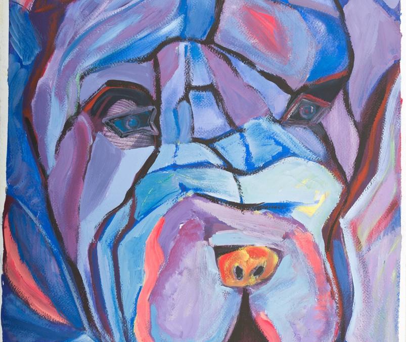 Maxim Shar-pei Portrait